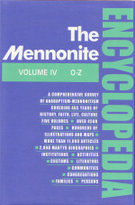 Mennonite Encyclopedia Volume 4